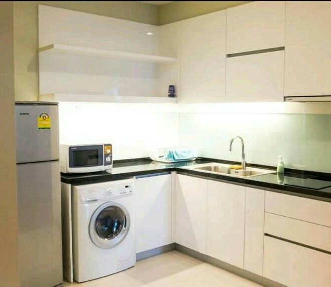 Bright Sukhumvit 24 1 bedroom for sale - kitchen