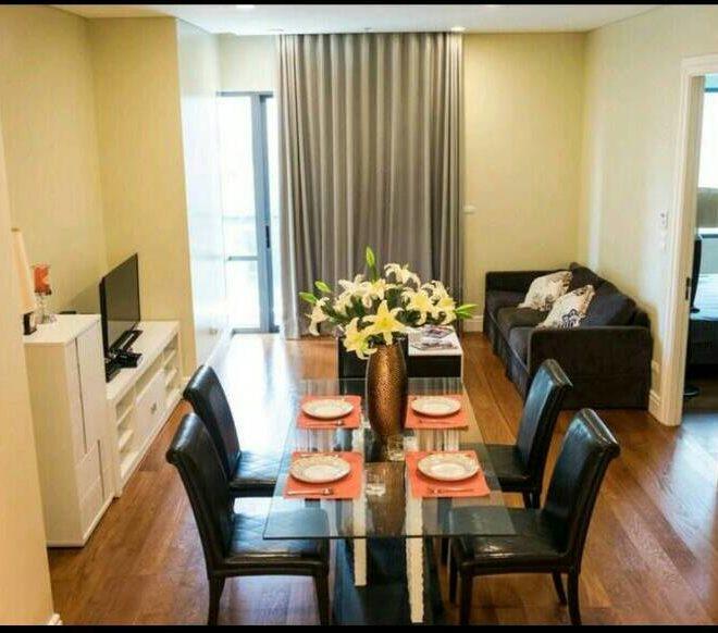 Large Luxury Condo Rent Near BTS Phrom Phong - 1 Bedroom in Bright Sukhumvit 24 Condominium