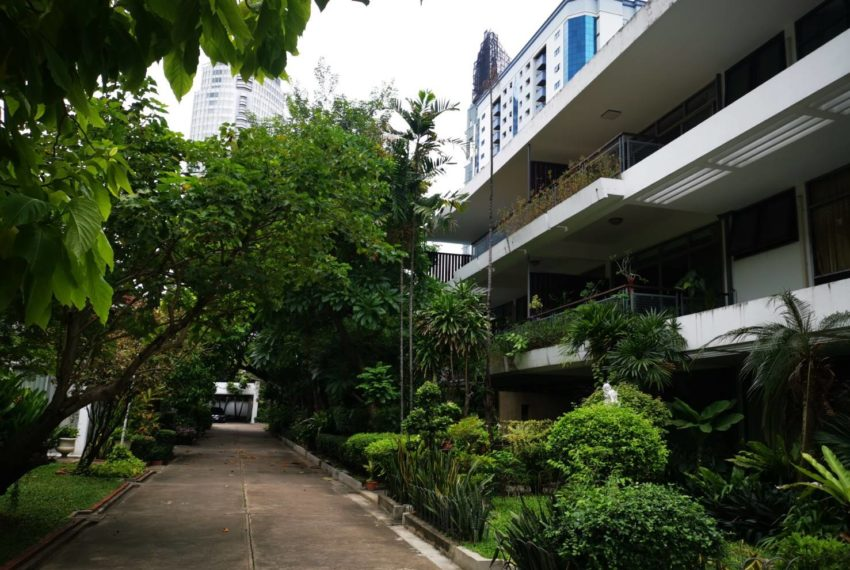 CS Villa Sukhumvit 61 - green area