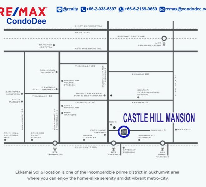 Castle Hill Mansion - map