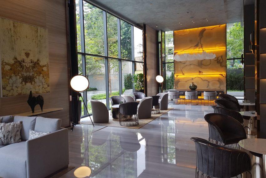 Celes Asoke condominium - lobby