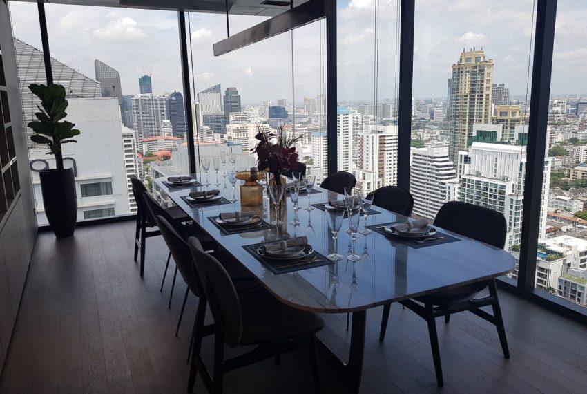 Celes Asoke condominium - private dining room