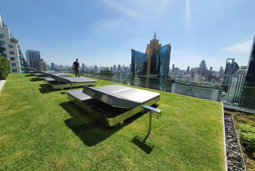 Celes Asoke condominium - rooftop