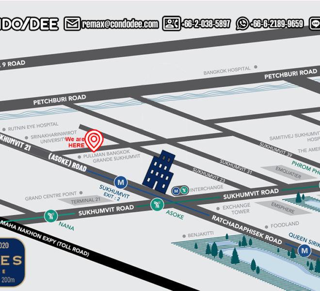 Celes Asoke - map