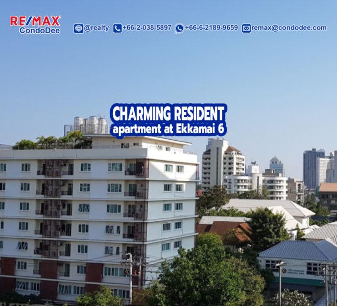 Charming Resident Ekkamai 6 Condominium Near BTS Ekkamai