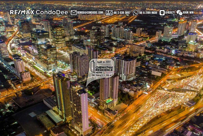 Chewathai Residence Asoke condominium 1 - REMAX CondoDee