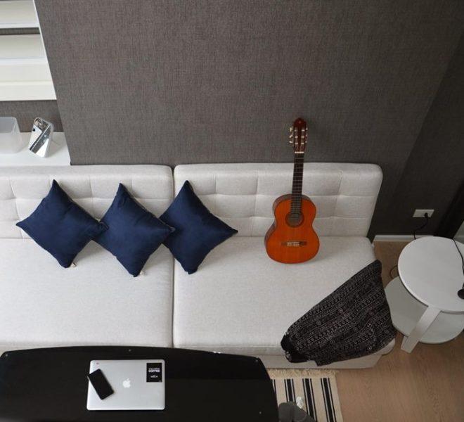 Duplex condo for rent near MRT Rama9 - 1-bedroom - mid-floor - Cheewathai Residence Asoke