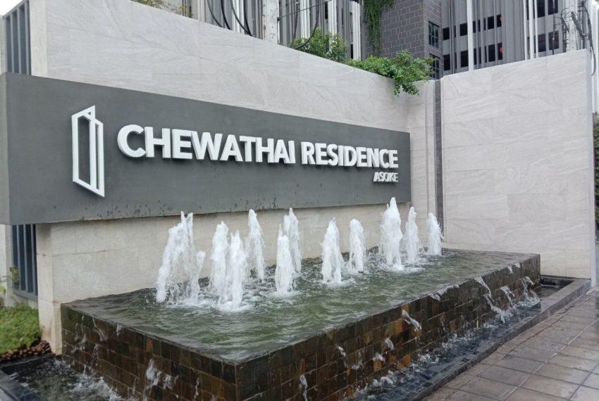 Chewathai Residence Asoke - sign