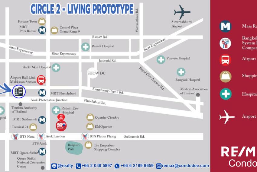 Circle 2 Living Prototype - map