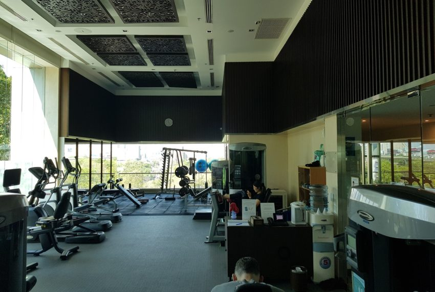 Circle Condominium Phetchaburi - fitness