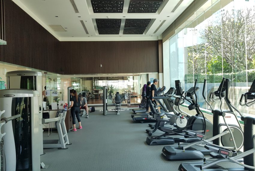 Circle Condominium Phetchaburi - gym