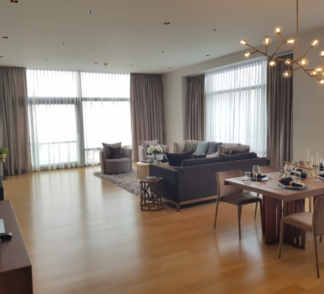 Penthouse for sale near Makkasan Airport Rail Link - new condo - Circle Living Prototype