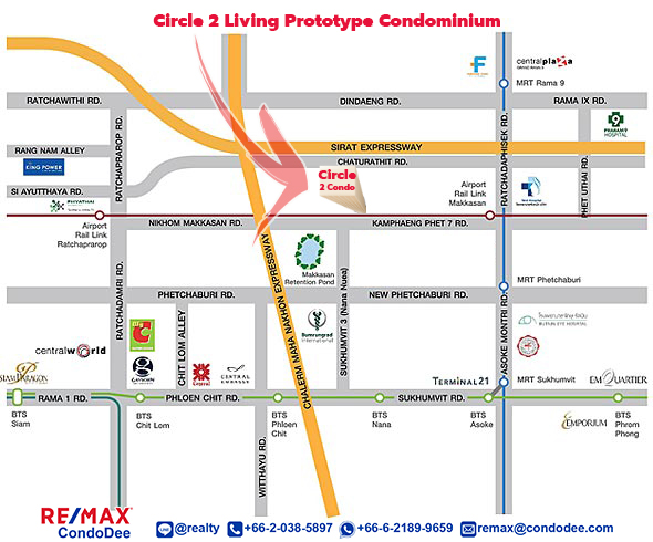 Circle Living Prototype - map