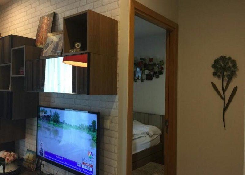 Circle Phetchaburi 1-bdroom for rent - flat TV