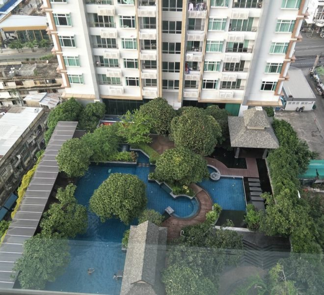 2-Bedroom Condo Sale Top Floor in Circle 1 in Asoke-Nana - Nice View