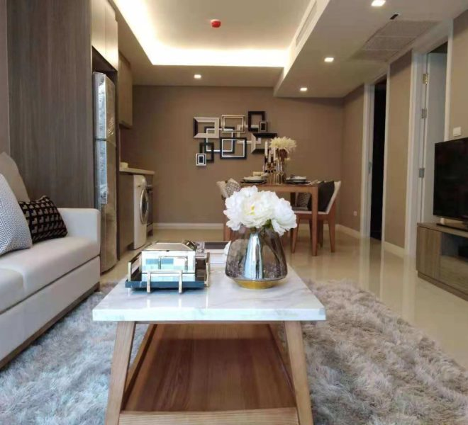 New 2-Bedroom Condo Near BTS Asoke and and Sheraton Grande Sukhumvit in Circle Rein Sukhumvit 12