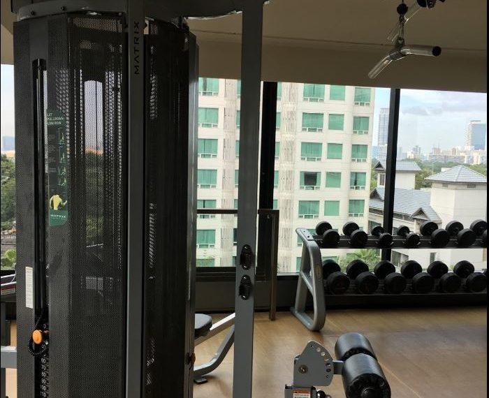 Circle S Sukhumvit 12 condo - fitness