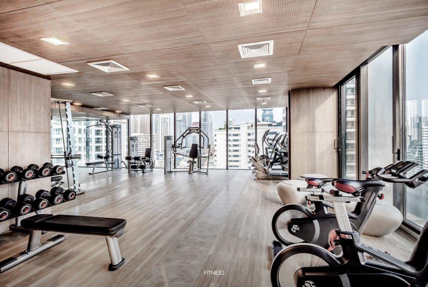 Circle Sukhumvit 11 condo - fitness