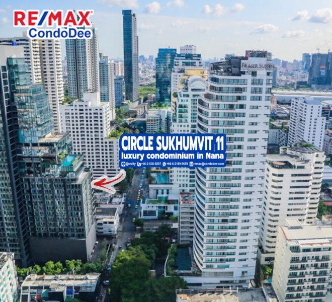 Circle Sukhumvit 11 Condominium in Nana