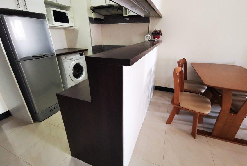 Flat 2 bedroom for sale near Sukhumvit MRT - high floor - CitiSmart Sukhumvit 18 condominium