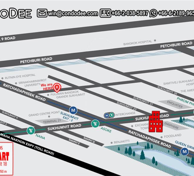 CitiSmart Sukhumvit 18 condo - map