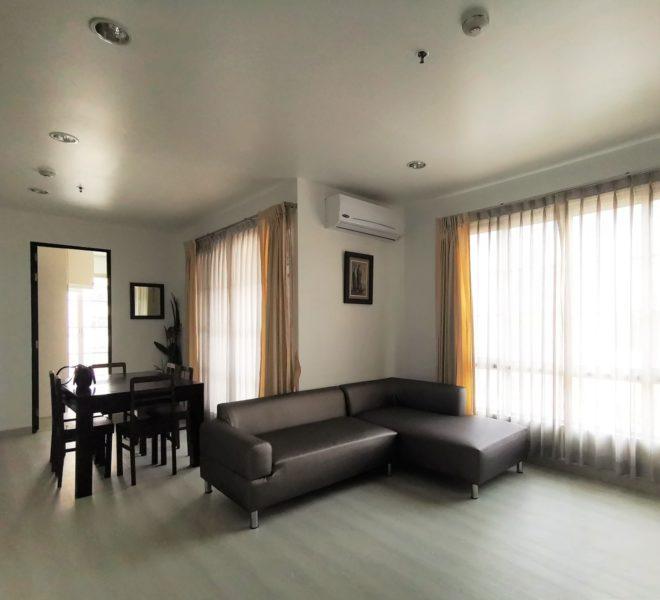 Rental of 2 bedroom condo at Sukhumvit 18 - renovated - low floor - CitiSmart