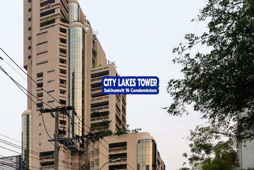 City Lake Tower Sukhumvit 16 1 - REMAX CondoDee-1