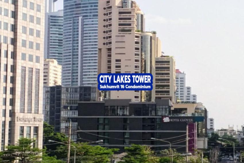 City Lake Tower Sukhumvit 16 - REMAX CondoDee
