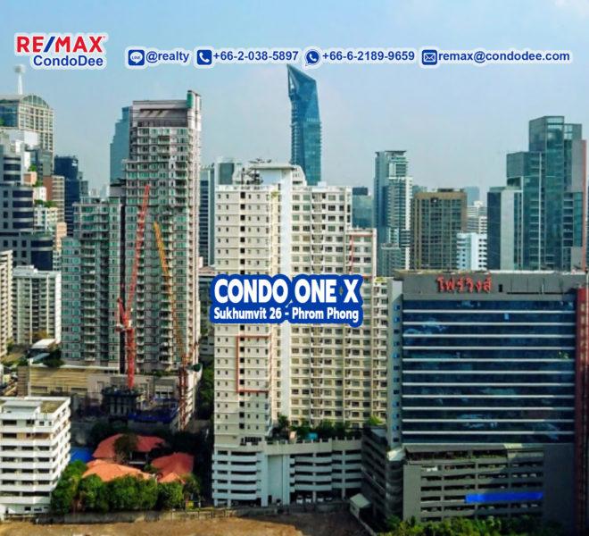 Condo One X Sukhumvit 26 - Apartment Near Phrom Phong BTS
