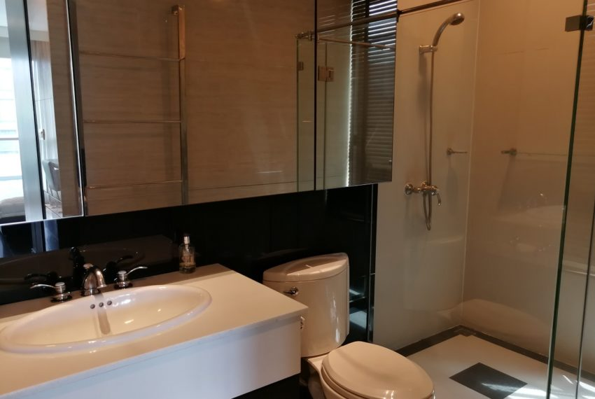 Condo for Sale in The Address Chidlom - Affordable 2-Bedroom - bathroom