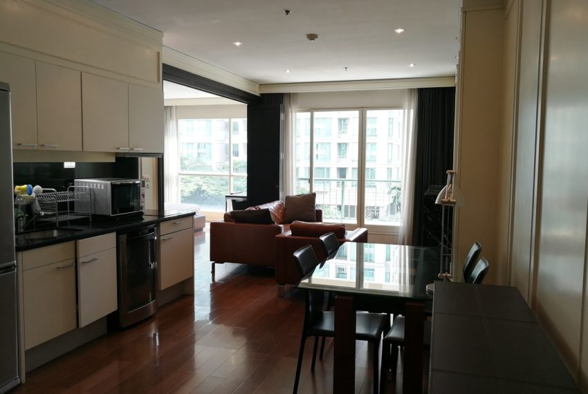 Condo for Sale in The Address Chidlom - Affordable 2-Bedroom - living area