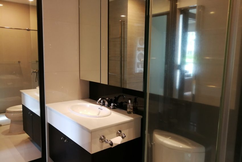 Condo for Sale in The Address Chidlom - Affordable 2-Bedroom - toilet