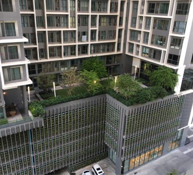 Condolette Midst Rama 9 Condominium near Rama 9 MRT - building