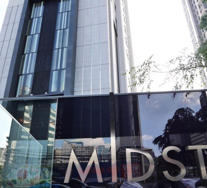 Condolette Midst Rama 9 Condominium near Rama 9 MRT - sign