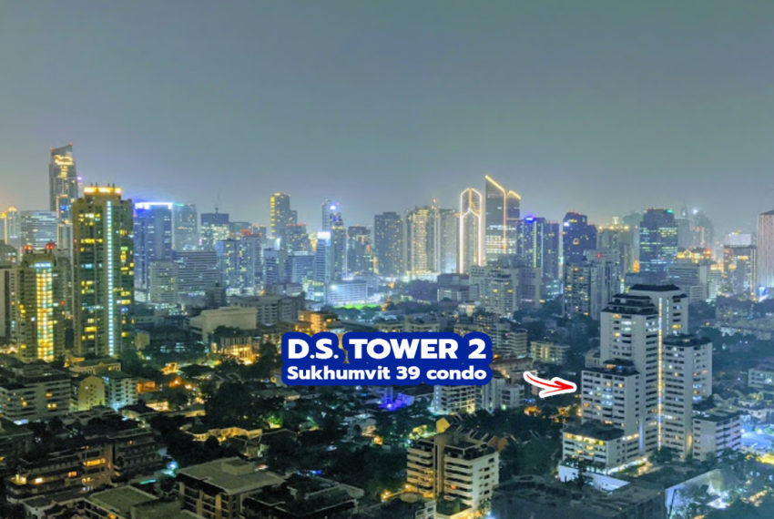 DS Tower 2 Sukhumvit 39 condo 1 - REMAX Bangkok