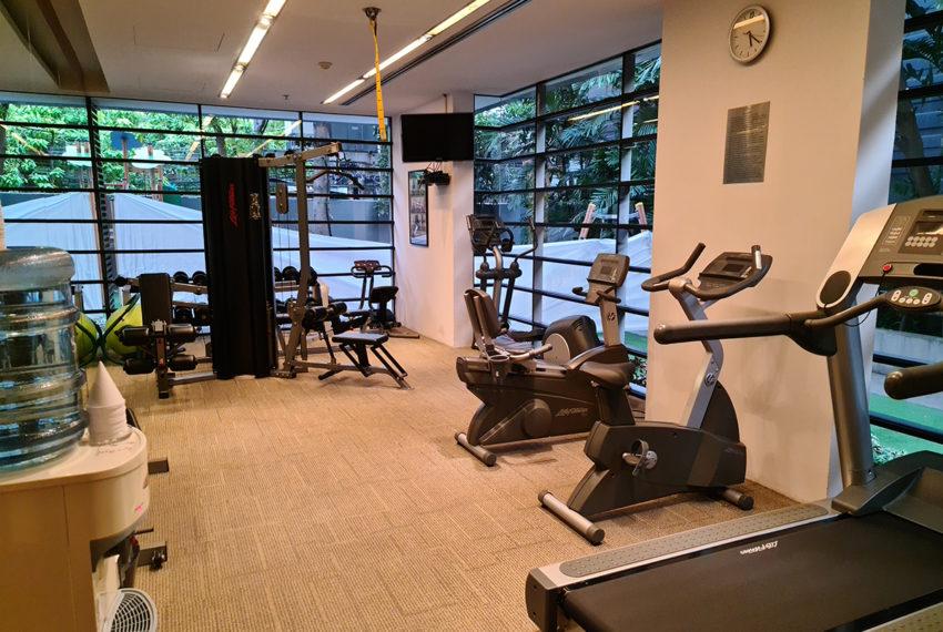 Domus SUkhumvit condominium in Bangkok - gym