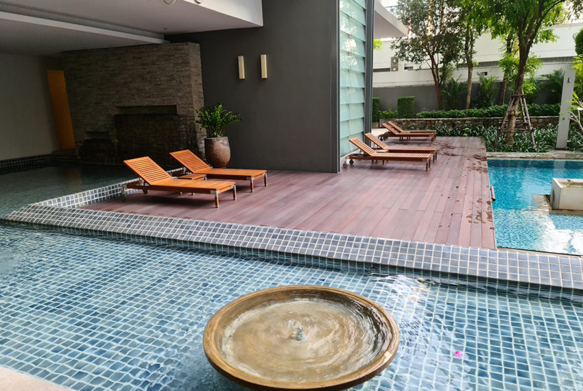 Domus SUkhumvit condominium in Bangkok - relax area