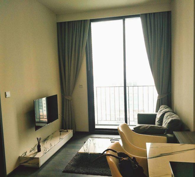 Sale of flat near BTS Asoke - 1 bedroom - mid floor - Edge Sukhumvit 23
