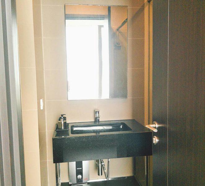 Edge Sukhumvit 23 - 1-bedrom-sale - mid-floor -toilet