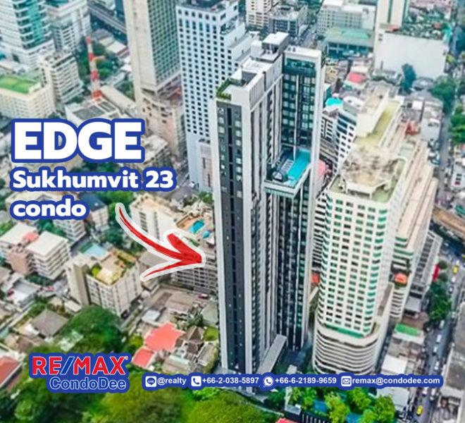 Edge Sukhumvit 23 Condominium Near BTS Asoke