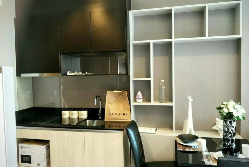 Edge Sukhumvit 23 - low floor - 1bedroom - sale - kitchen builtin