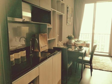 Bangkok condo with an unblocked view for sale - mid-floor - 1-bedroom - Edge Sukhumvit 23