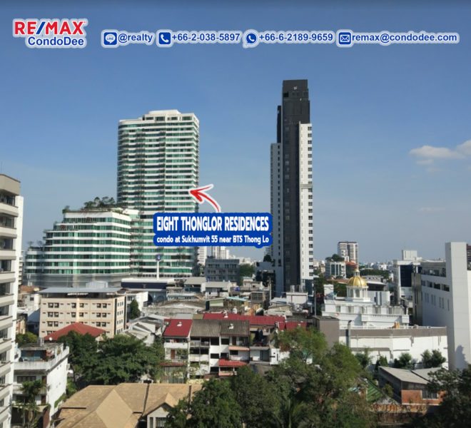 Eight Thonglor Residences - REMAX CondoDee