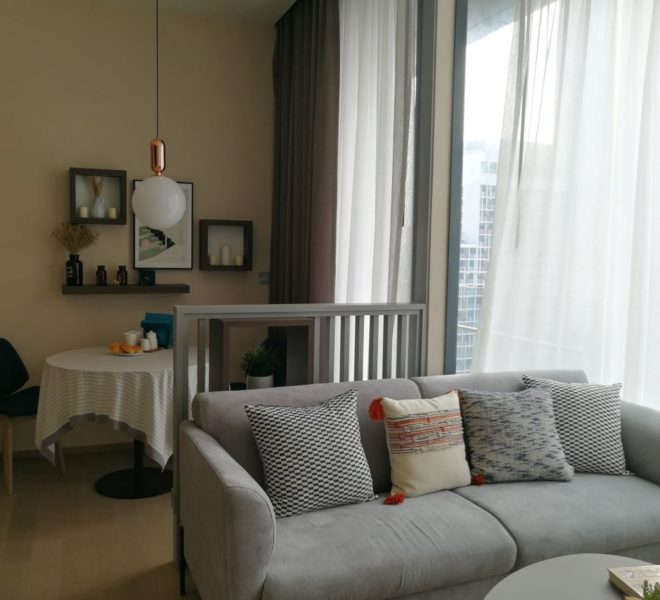 Asoke condo for sale Near University - 2 bedroom - high floor - The Esse Asoke