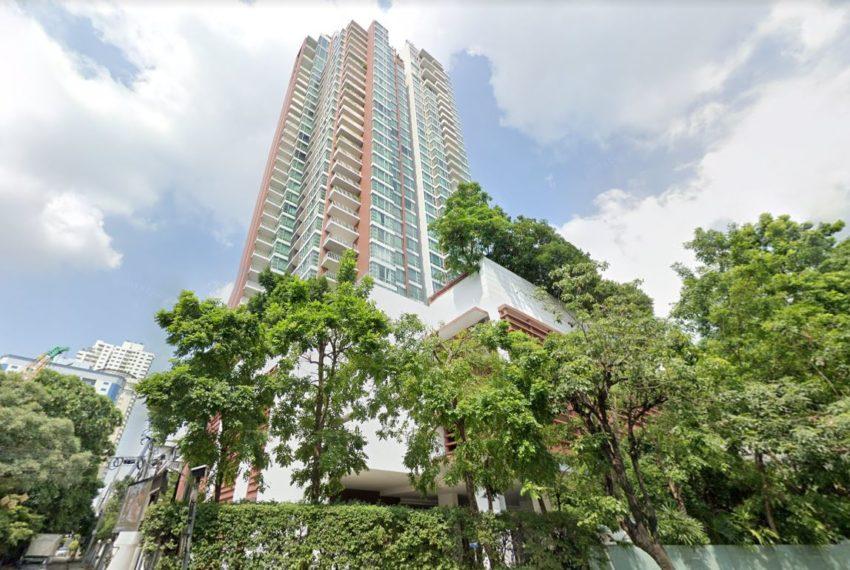 Fullerton condominium - street view