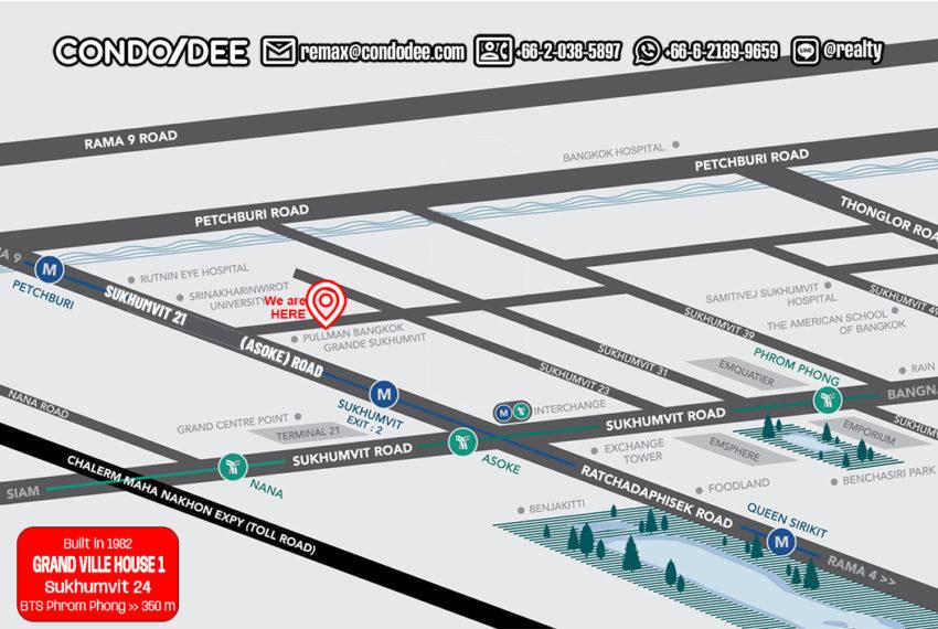 Grand Ville House 1 condo - map