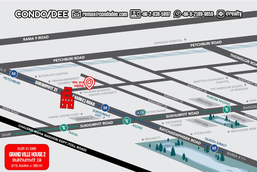 Grand Ville House 2 condo - map