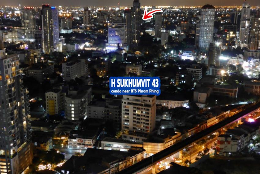 H Sukhumvit 43 condo 1 - REMAX Bangkok