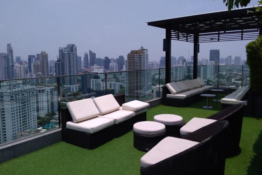 H Sukhumvit 43 condo - rooftop relax