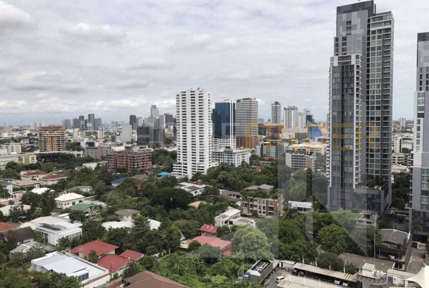 HQ Thonglor by Sansiri condominium - drone view